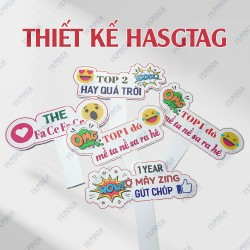 Thiết kế Hastag