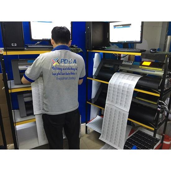 Xưởng In tem phụ sản phẩm chuyên nghiệp giá rẻ chất lượng cao PDCA