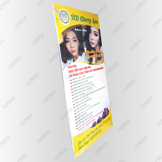 In Standee chất lượng cao - xưởng in PDCA
